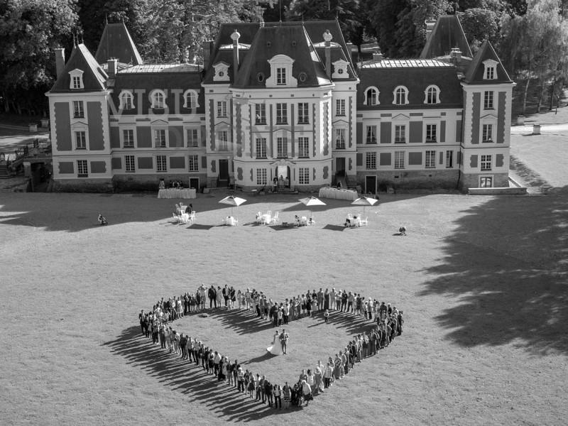 Photo-mariage-drone-coeur